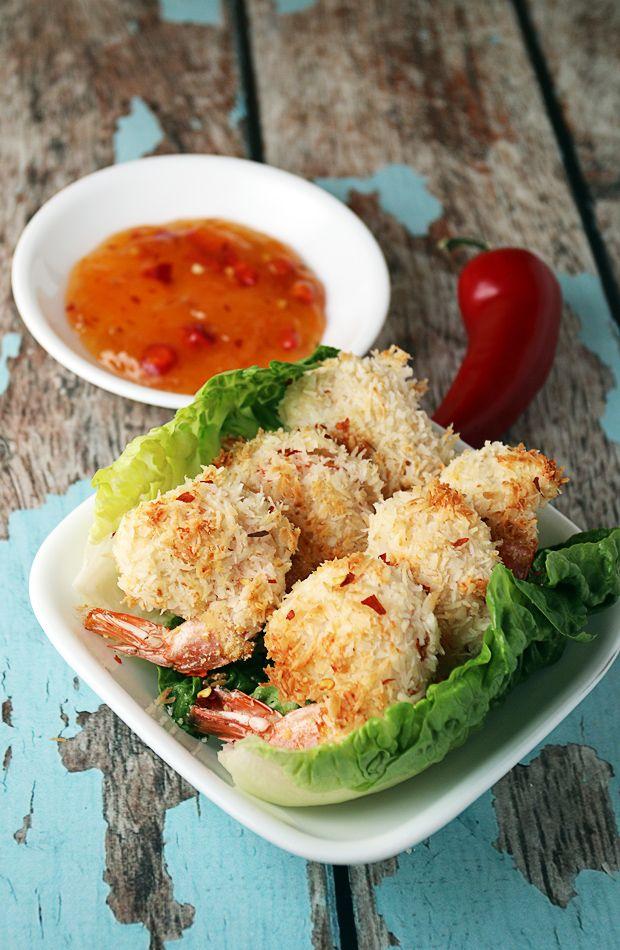 Low Carb Coconut Shrimp | Ruled Me
