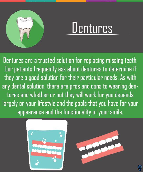 Dentures are a trusted solution for replacing missing teeth. Our patients frequently ask about dentures to determine if they are a good solution for their particular needs. #Dentures #missingTeeth #DentalRestoration #Dentist