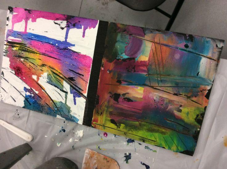 Adding colour over pastes/ adding colour into paste