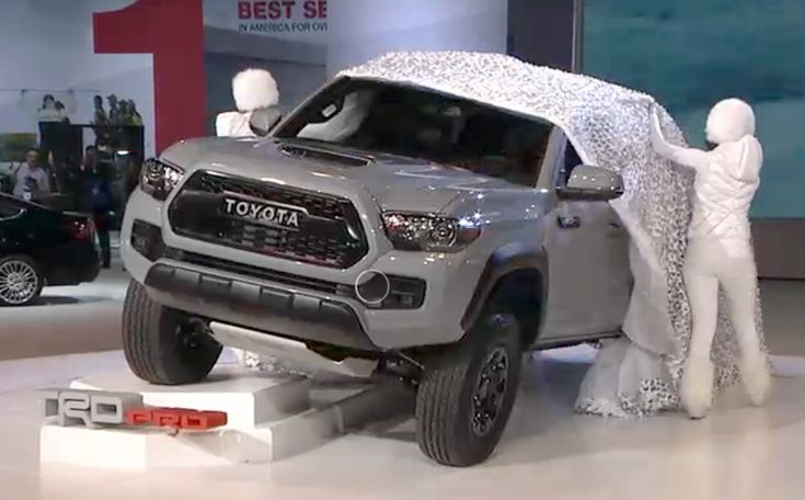 2017 Tacoma TRD Pro Unveiling