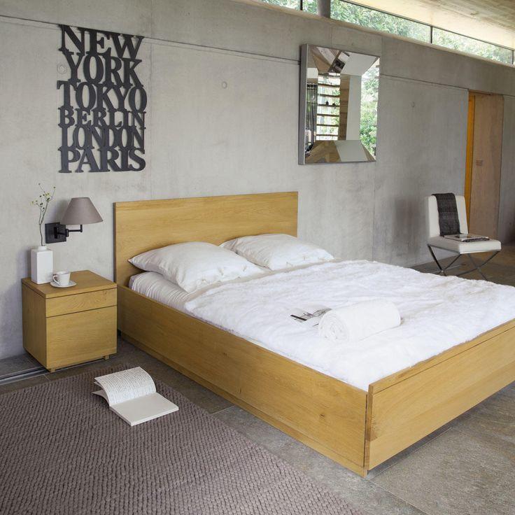 Modern bed 140 HAMBOURG
