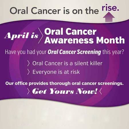 Did you know that oral cancer kills one American every hour? Oral cancer's high mortality rate is due to late-stage discovery! April is Oral Cancer Awareness Month and we have new technology at Premier Dental to detect oral cancer in it's earliest stages! Check out todays blog for more information about Oral Cancer and what we are doing http://www.premiersmile.com/blog.