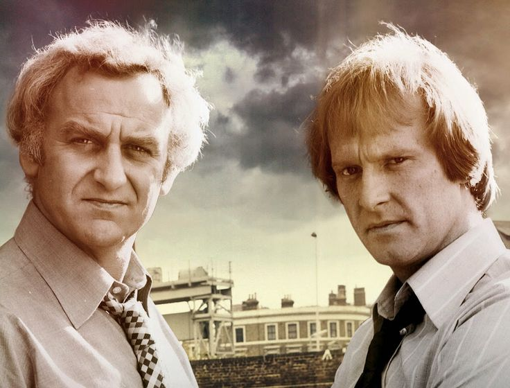 John Thaw and Dennis Waterman in The Sweeney, 1975-78
