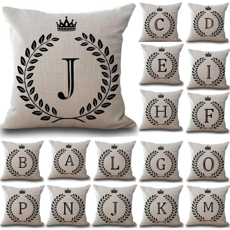 Bringing exclusively for you: Personalized Pill...  Get it before the supplies run out  http://www.magnetabrand.com/products/personalized-pillow-cover-with-your-name-letter?utm_campaign=social_autopilot&utm_source=pin&utm_medium=pin