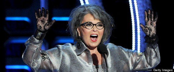 Roseanne Barr came in fifth in 2012 US presidential election