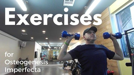 Exercising and working out can be daunting when you have Osteogenesis Imperfecta (aka Brittle Bones), but don't count it out! Physical activity is important for those of us with O.I. and havi…