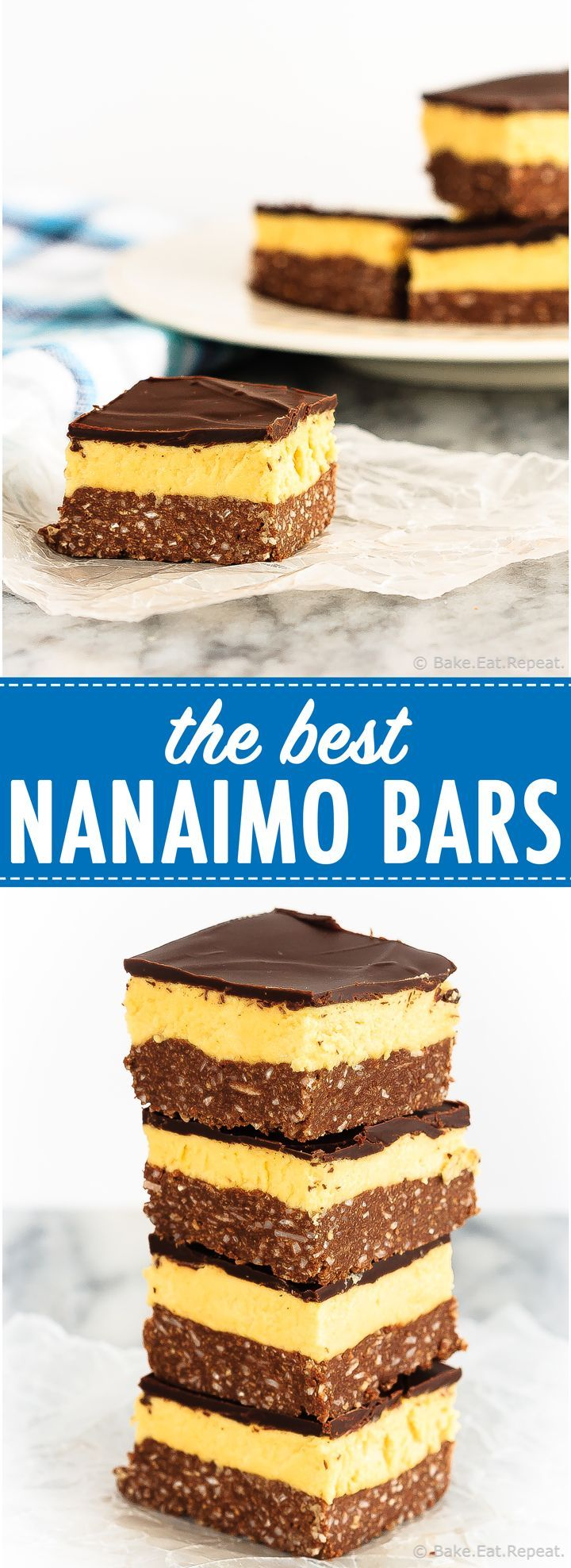 The Best Nanaimo Bars - These are the absolute best nanaimo bars, an amazing sweet treat that's a perfect addition to your holiday dessert table!