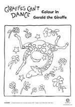 giraffes cant dance activities - Google Search
