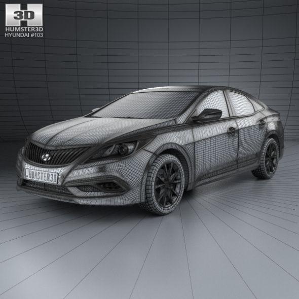 Hyundai Grandeur Hg Hybrid With Hq Interior 2014 Hg Grandeur