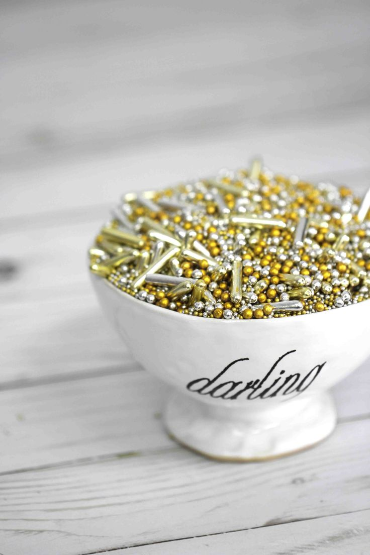 gold rod sprinkles silver rod sprinkles silver dragees gold dragees fancy sprinkles