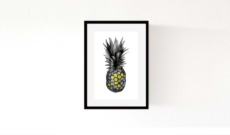 'Pineapple' ©Morgan Connoley http://colourandskulls.bigcartel.com/