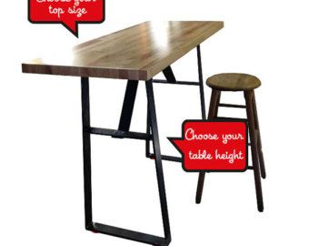 Industrial Bar Height Tables