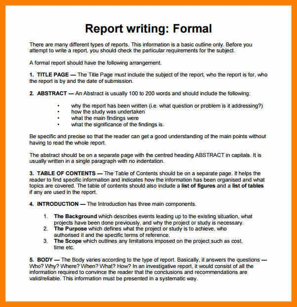 Best 25+ Report writing format ideas on Pinterest Report writing - formal report template word