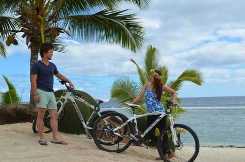 Mountain Biking in Rarotonga - get your bike hire from Polynesian Rental Cars - http://www.polynesianhire.co.ck/