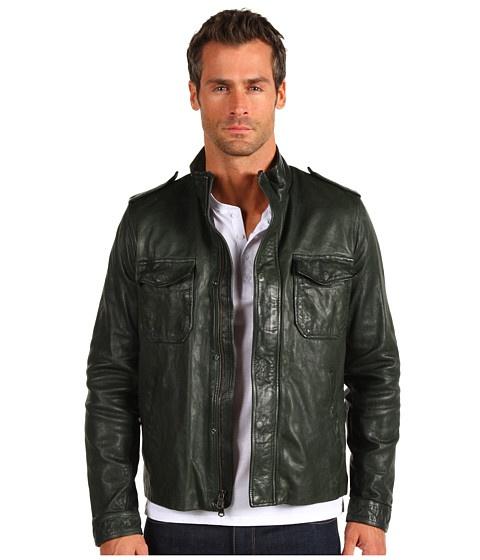 Vince C.P.O Leather Jacket - Jachete - Imbracaminte - Barbati - Magazin Online Imbracaminte