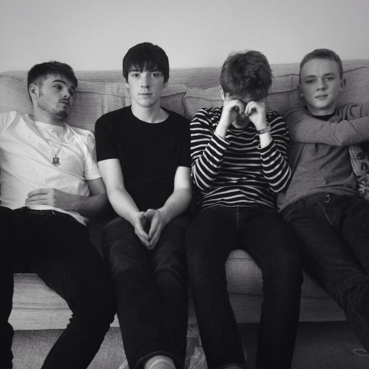 "The Strypes, July 8, 2015 Photo by Cecilie Harris for  Boys By Girls, ""A bi-annual menswear Fashion Magazine with soul. Photographed exclusively by female photographers."""