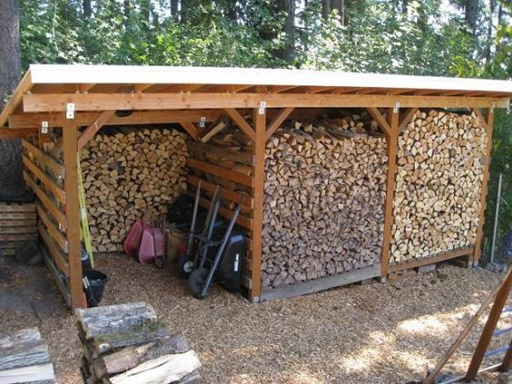 Build your firewood storage shed to stand the test of time: To do its job well, a firewood storage shed has to not only shelter your stacks of cordwood from the rain and snow — but do so in a way that allows the wood to dry out.