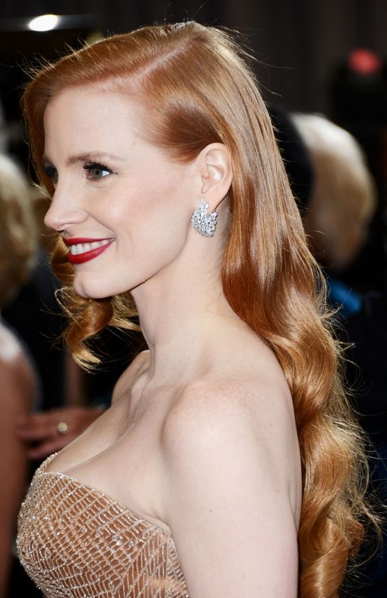 20 Jessica Chastain Hairstyles