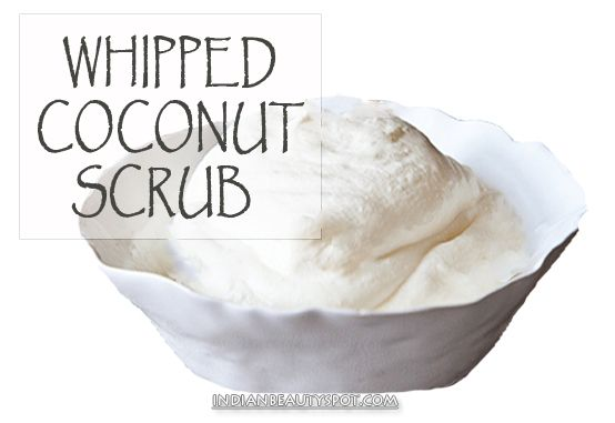 Whipped Coconut Body Scrub
