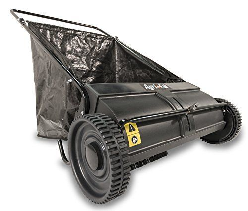 Agri Fab 45 0218 26 Inch Push Lawn Sweeper Lawn Sweepers Lawn Mower Tractor Mower