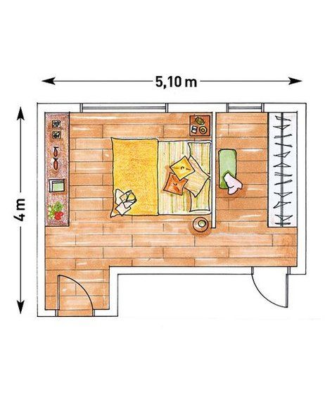 1000 ideas sobre planos de dormitorios en pinterest for Cuarto con walking closet