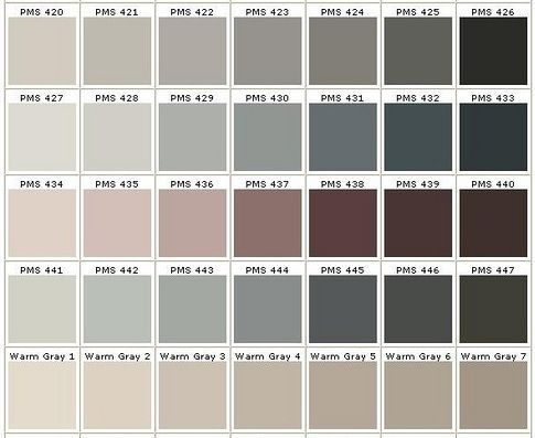 960 Best Images About Color Me Beautiful On Pinterest: different colours of grey paint