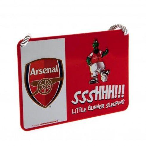 Arsenal F.C. Bedroom Sign Mascot