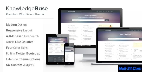 Knowledge Base V1 5 3 A Wordpress Wiki Theme Nulled Free Premium Wordpress Themes Wordpress Theme Wordpress
