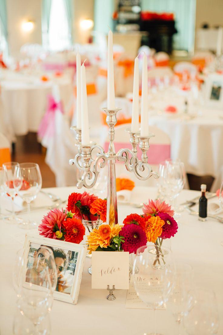 Bunte Vintage Hochzeit im Schloss in rot orange pink  Hochzeitsblog ...