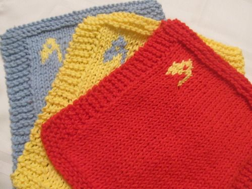 Knitted Dishcloth Pattern With Star : Pin by Tinned Pineapple on Things That Inspire Us Pinterest