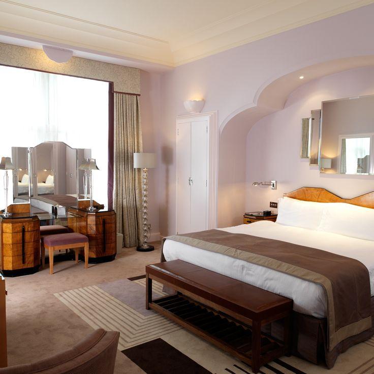 El estilo art decó del hotel Claridge de Londres, famoso en todo el ...