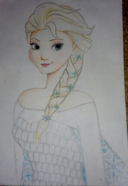 Low quality Elsa