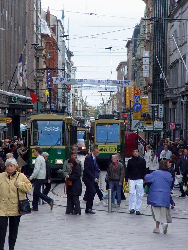 Helsinki, Finland Street