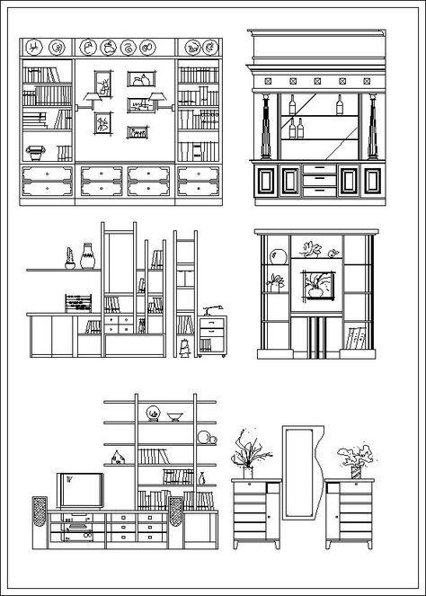 Furniture Elevation Sofa Elevation Chair Elevation Cabinet