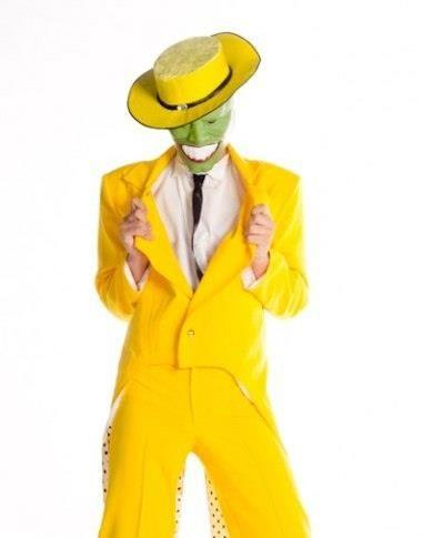 Маска джим керри жёлтый пиджак