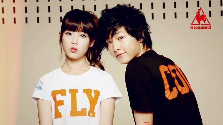Photo of joong Ki & IU - Lecoq Sportif for fans of Song Joong Ki ( 송중기).
