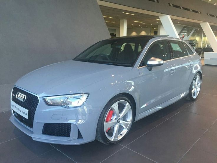 The #AudiRS3 in Nardo Grey.  Let's go!