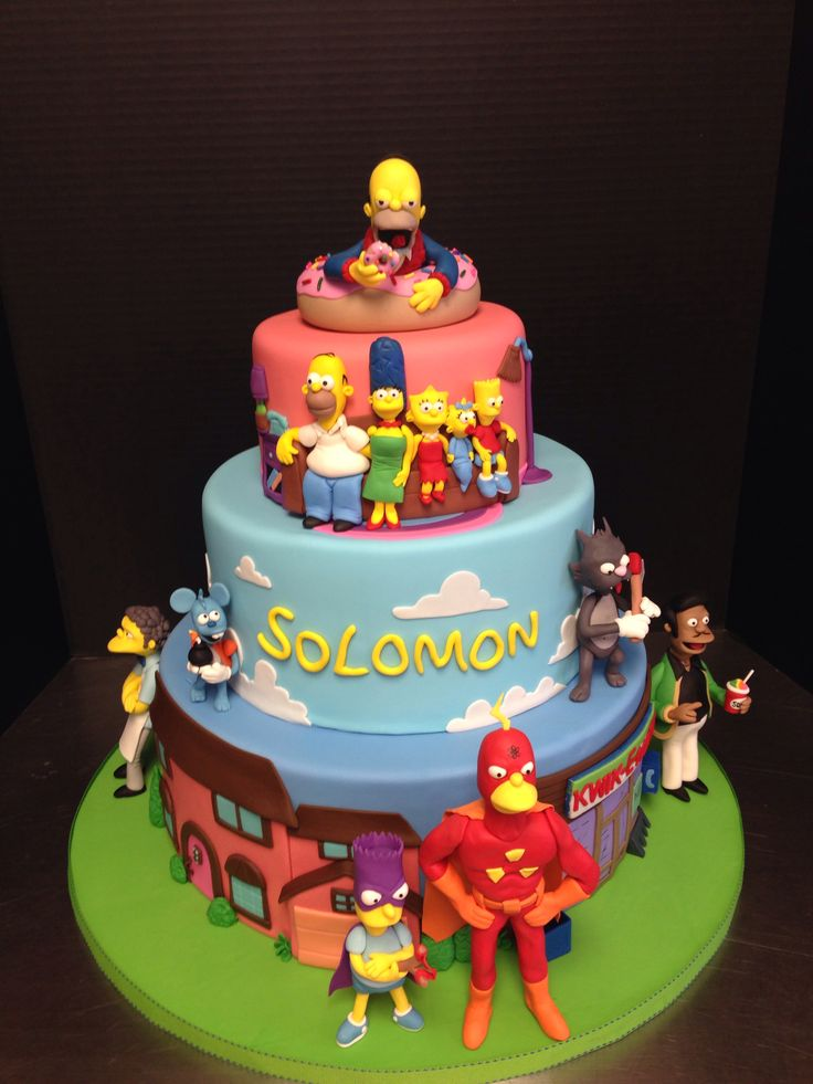 Simpsons cake!