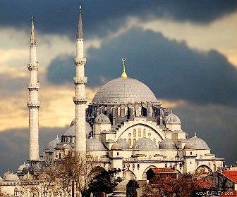 Suleymaniye Mosque  Architect-Mimar Sinan  built between 1550-58