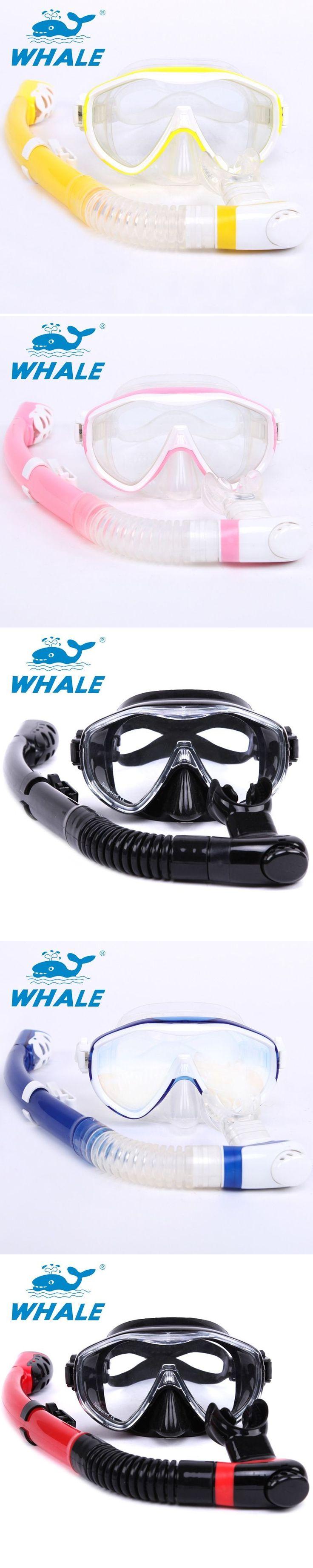 Hot sale Water Sport Training Diving glasses Anti-Fog Snorkeling Equipment Breathing tube Silicone Scuba Diving Mask Snorkel set #scubadivingequipmentmasks