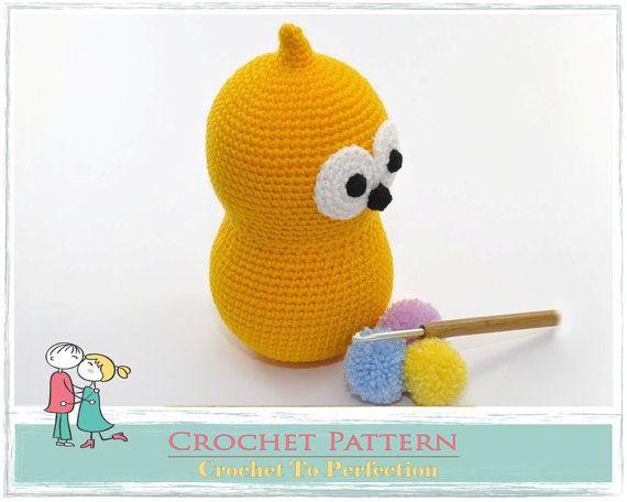 Amigurumi PATTERN Zingy Crochet Amigurumi Pattern by TatieSoftToys