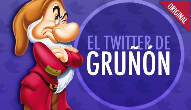 El Twitter de: Gruñón, el enano de Blanca Nieves