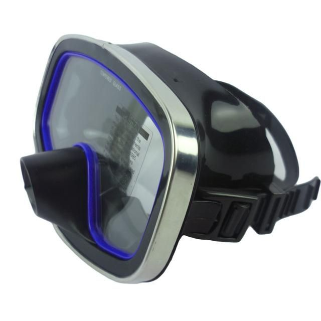 SCUBA DIVING GLASSES SNORKEL DIVING MASK FULL FACE TEMPERED LENS SPEARFISHING GEAR DIVING EQUIPMENT M-246