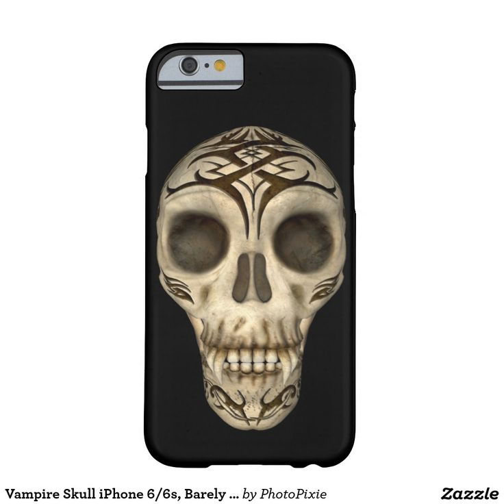 Vampire Skull iPhone 6/6s, Barely There Phone Case