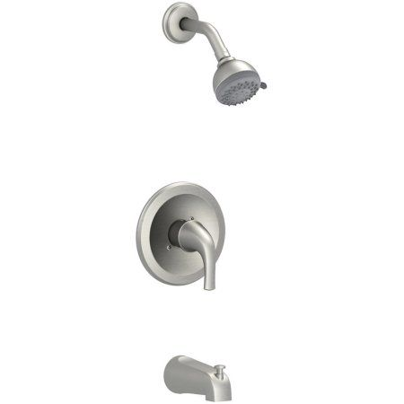 Premier Creswell Single-Handle Tub & Shower Faucet, Brushed Nickel
