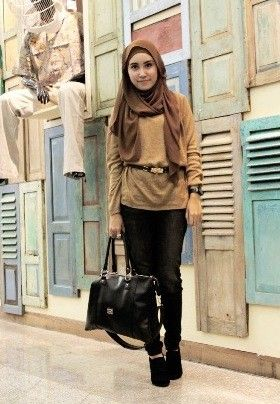 Simple chic for you Muslim girl!