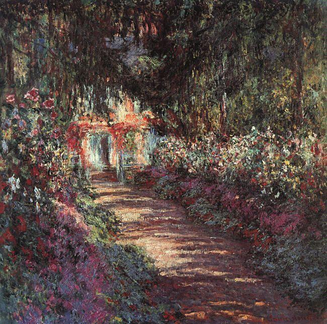 Claude Monet - The Garden in Flower, 1900