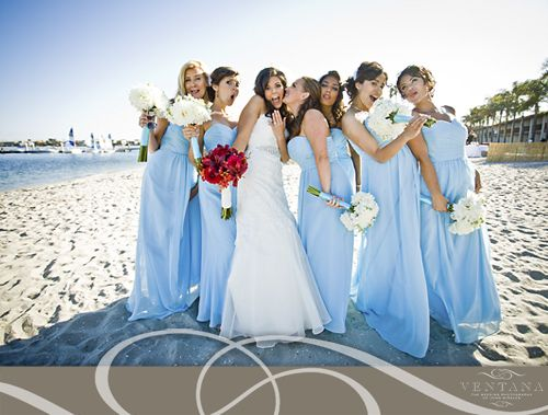 5 Ideas For A Great Beach Themed Wedding In Puglia: Sky Blue Wedding Theme - Google Search