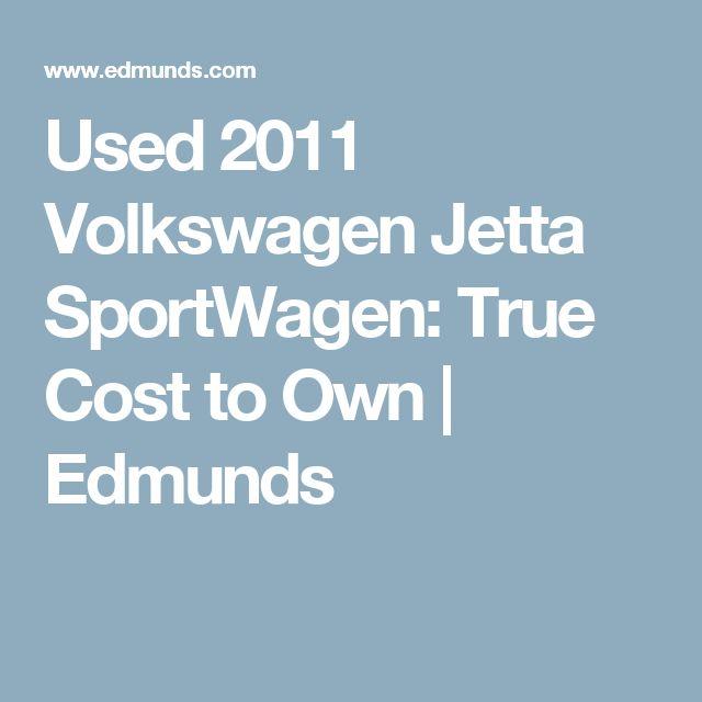 Used 2011 Volkswagen Jetta SportWagen: True Cost to Own | Edmunds