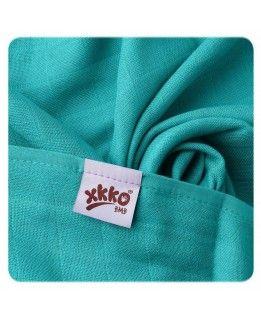 Pielucha/ręcznik bambus XKKO 90x100 - turkus